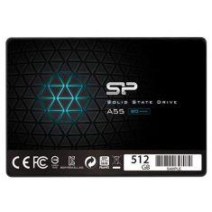 "SSD interne SILICON POWER 2,5"" 512G SATAIII (TLC) 7mm ACE A55 SP512GBSS3A55S25"