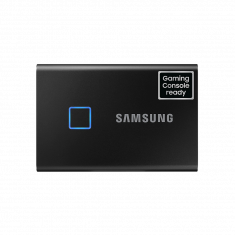 SSD EXT SAMSUNG T7 Touch 1000G Noir USB 3.2 Gen 2 / MU-PC1T0K/WW