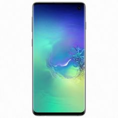 Smartphone Galaxy S10 VERT 8Go 128Go Android Oreo 8  IP68 OctoCore 2.8 GHz - double sim Ecran  6.1'' QHD+S-amoled BàB