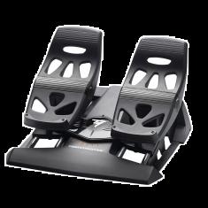 THRUSTMASTER T.Flight Rudder Pedals Palonnier à  glissières S M A R T Connectique USB et/ou RJ12 2 pédales de freins différentiels