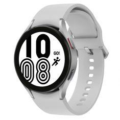 SAMSUNG Galaxy Watch4 44M 4G Silver - Aluminium bracelet silicone OS Google Electro cardiogramme et pression sanguine design sport SM-R875FZSAXEF DAS 3.076 W/Kg