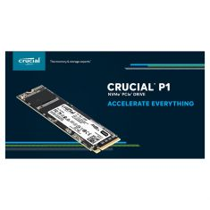 SSD CRUCIAL 500Go P1 M.2 Type 2280 3D NAND NVMe™ PCIe® 900 MB/s Lecture - 950 MB/s Écriture Gar 5ans CT500P1SSD8