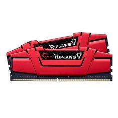 MEMC G.SKILL RipJaws 5 Series Rouge 16Go (2x8Go) DDR4 2400 MHz CL15 PC4-19200 UDIMM 1,2V 288Pin F4-2400C15D-16GVR