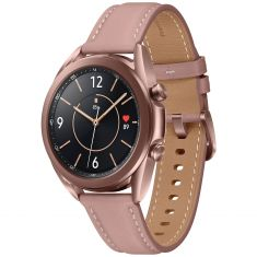 SAMSUNG Galaxy Watch 3 41mm Mystic Bronze BT - Bluetooth Lunette Rotative GPS Intégré SM-R850NZDAEUB - DAS 0,294W/Kg