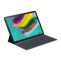Book Cover Keyboard Galaxy Tab S5e Grand Confort de Saisie - NOIR Connexion Aimantée - Mode DeX SAMSUNG - EJ-FT720BBEGFR