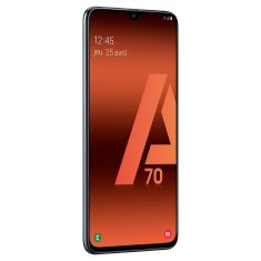 Smartphone Galaxy A70 NOIR 128Go Android Pie Octo Core 2.3 Ghz Triple capteur grand angle 123° Ecran  6.7'' FHD+super Amoled