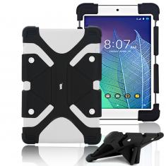 """Protection Universelle en silicone pour tablettes 8.9/12"""" noire"""