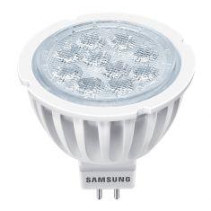 LED SAMSUNG MR16 GU5.3 2700°K 12V E WATAGE 5W W= 35W  (V)  AC/DC12V Flux (Lumen) 310 40° angle - non dimm