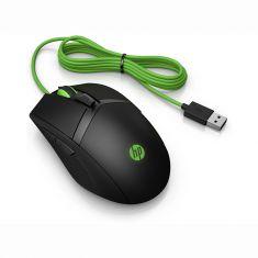 Souris Filaire HP Pavilion Gaming 300 Noire 4PH30AA souris ambidextre 8 boutons idéal pour droitier ou gaucher.