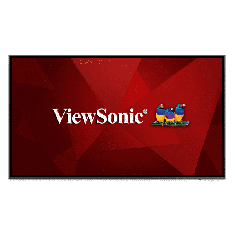 Ecran 75'' ViewSonic LFD 4K LED UHD 16:9 16h/7j 450nit 8ms 1200:1 178/178 VESA 400x200 2xHDMI VGA DP 3xUSB Slot OPS Hp:2x12W CDE7520