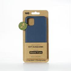 WE Coque de protection 100% biodégradable et compostable pour APPLE IPHONE 11 PRO couleur Bleu Respectueux de l'environnement