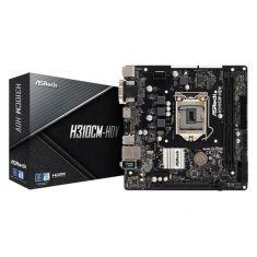 CM ASRock H310CM-HDV M-ATX LGA1151 Socket 2 x DDR4 PCIe 3.0 x16 PCIe 2.0 4xUSB 3.1 4 SATA3  90-MXB8J0-A0UAYZ