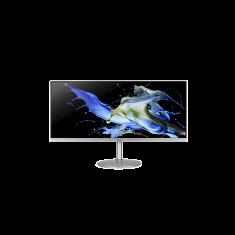 Ecran Acer 34'' CB342CKCsmiipSilver 3440x1440 @75Hz QHD 21:9 IPS Mat 1ms 400 nits - 2x HDMI DP USB 3.0 Hp:2x3W- ZeroFrame - garantie 3 ans