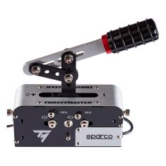 THRUSTMASTER TSS HANDBRAKE SPARCO MOD - Frein à main progressi et boite de vitesse sequentielles compatible Xbox One PS4 PC
