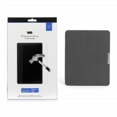 "Bundle Etui tablette Samsung Tab A 10,5"" 2018 + Verre trempé - Galaxy A 10,5"""