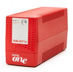 SALICRU Onduleur SPS 900 ONE S Line-interactive 900VA USB 2 prises Shuko/FR Protection surcharge Garantie 3 ans 662AF000003
