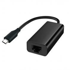 Adaptateur USB-C mâle /RJ45 femelle 10M/100M/1000M  - câble 9 cm Pour tablette, Macbook et PC Plug & Play