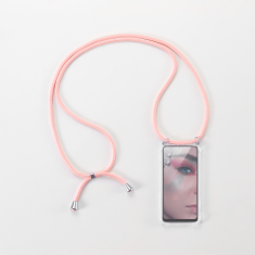 WE Coque de protection avec tour de Cou pour smartphone Apple iPhone 6/7/8/SE 2020. Ultra résistant. Apparence conservée. ROSE