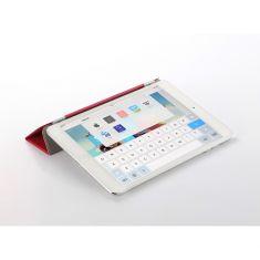 i-850FushiaEtui 3en1 pour iPad mini Compatibl iPad mini/ mini 2/ mini 3 Fonction Sommeil/Réveil auto Rabat amovible avec aimant intégr