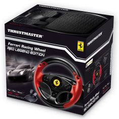 THRUSTMASTER FERRARI Racing Wheel Red Legend Edition PS3 PC Volant boite sequentielle+ large pedalier optimise fonctions programmables