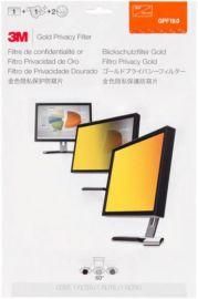 3M Filtre de confidentialité pour PC fixe 19'' haute securité Or