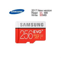 CARTE MEMOIRE SAMSUNG M-SD 256G ADA MICRO SD EVO PLUS avec ADAPT. SD MB-MC256HA/EU - classe 10