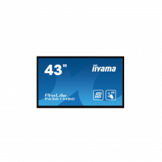 "IIYAMA 43""Tactile PCAP 40points FHD Idalle AMVA3 LED haut-parleurs 2x8W DVI HDMI DisplayPortOPS slot (SDM-L) / T4361MSC-B1"