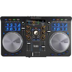 Hercules UNIVERSAL DJ - 3 modes Control DJ 2 plat Bluetooth 16 pads DJUCED™ 40°  + master + app Process 2.0 GHz 2GoRAM 100Mo