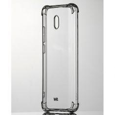 WE Coque de protection transparente pour smartphone XIAOMI REDMI 8A Fabriqué en TPU. Ultra résistant Apparence du téléphone conservée.