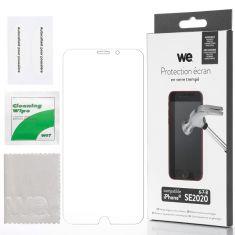 Verre Trempé pour iPhone SE 2020 6/6S/7/8 - Film Protection écran Anti-Rayures - Anti-Bulles d'air Ultra Résistant - Dureté 9H Glass
