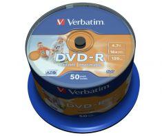 DVD-R - 4,7 Gb - Sprindle de 50