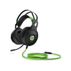 Casque de jeu Stereo HP Pavilion Gaming Headset 600 Noir et vert 4BX33AA surround virtuel 7.1
