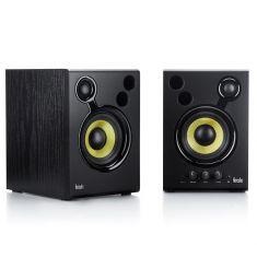 Hercules DJ MONITEUR 42 EU Enceinte DJ performantes 2 X 20 Watts RMS 80 Watts PeakPower Caisson en bois
