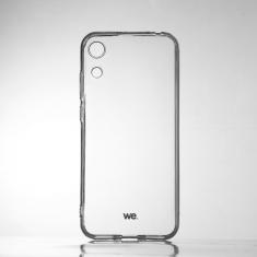 WE Coque de protection transparente pour smartphone HONOR 8A Fabriqué en TPU. Ultra résistant Apparence du téléphone conservée.
