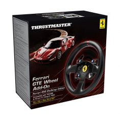 THRUSTMASTER Ferrari GTE Wheel Add-On Ferrari 458 challenge Editio Roue détachable avec palettes fixes Manettino  3 positions