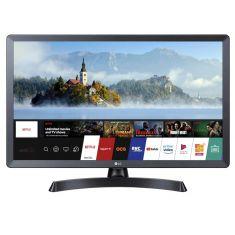 "Ecran TV LG 27.5"" LED 28TN515S-PZ Résolution HD 1366x768 16:9 8ms HPs HDMI, USB 2.0, Bluetooth audio, Wifi, Smart TV WebOS, Slot CI"
