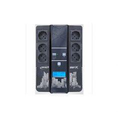 Onduleur INFOSEC Zen-X 600 Onduleur Line Interactive 600 VA 6 Prises FR/SCHUKO Garantie 2 ans 66070
