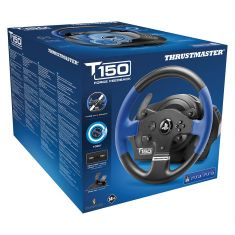 THRUSTMASTER T150RS Force Feedback PS3 PS4 PC Volant 28cm sequentiel+ large pedalier inclinable frein progressif force feedback 1080°