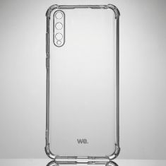 WE Coque de protection transparente pour HUAWEI Y6P Fabriqué en TPU. Ultra résistant Apparence du téléphone conservée.
