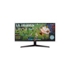 "ECRAN LG 29"" Noir  29WP60G-B 21:9 UWFHD 1ms 2560×1080 250cd/m2 HDMI DisplayPort USB FreeSync HDR 10 BlackStabilizer Mode DAS Inclinais"