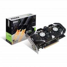 VGAN MSI GeForce GTX1050 Ti 4GT OC 1455MHz/1341MHz GDDR5 4Go 7008MHz PCI-E 3.0 x16 DP/HDMI/DVI-D NVIDIA SHIELD Compatible DirectX 12