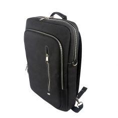 """Sac à dos PC WE 15"""" Noir Mode sacoche ou sac à dos Compartiment renforcé pour PC Passant pour Trolley"""