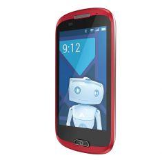 Smartphone A6 HAIER 4Gb- EZY haier produit spécifique pour Seniors dual Core 1.3 GHz- WVGA (480*800) 130*65.5*11.8 mm ROUGE
