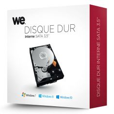 """WE HDD INTERNE 3.5"""" 2To 5400T Kit Retail"""