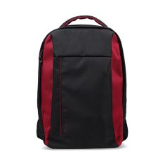 SAC A DOS NITRO Backpack NOIR/ROUGE Up to 15.6 inch NBs  vol  20 L Durable Polyester