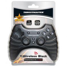 THRUSTMASTER t-wireless black Manette sans fil 2 -4 Ghz boutonHome 50H autonomie - Multi joueurs compatible Playstation3 et PC