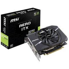 VGAN MSI GeForce GTX1070 AERO ITX 8G OC 1531MHz/1721MHz GDDR5 8Go PCI-E 3.16x 2xDP/2xHDMI/DVI-D NVIDIA Pascal VR Ready 4K