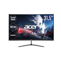 Ecran Acer 31.5'' ED320QRPbiipx 1920x1080 DP:165Hz, HDMI:144Hz 16:9 5ms 300nits 400:1/100M:1 178°/178° 2xHDMI DP Incurvé 1800R FreeSync
