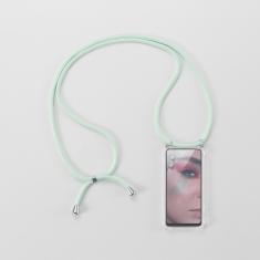 WE Coque de protection avec tour de Cou pour smartphone Apple iPhone 6/7/8/SE 2020. Ultra résistant. Apparence conservée. VERT