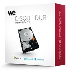 """WE HDD INTERNE 3.5"""" 4To 5400T RETAIL BOX"""
